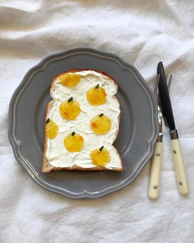 Xuýt xoa những lát bánh mì sandwich đẹp như tranh của cô gái Nhật Bản - 1
