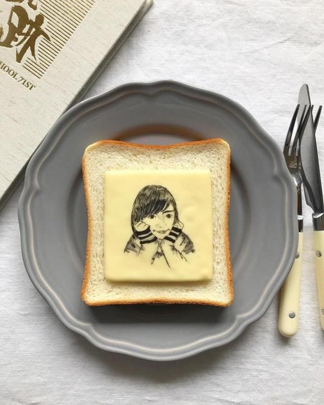 Xuýt xoa những lát bánh mì sandwich đẹp như tranh của cô gái Nhật Bản - 4