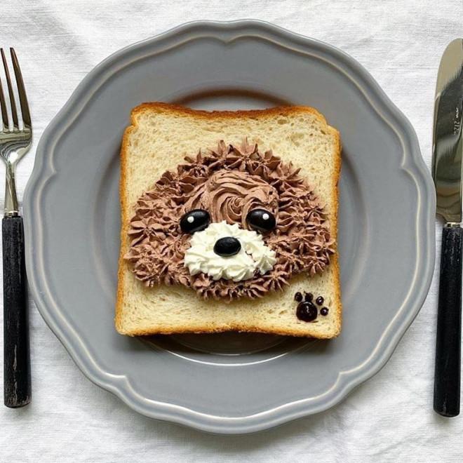 Xuýt xoa những lát bánh mì sandwich đẹp như tranh của cô gái Nhật Bản - 9