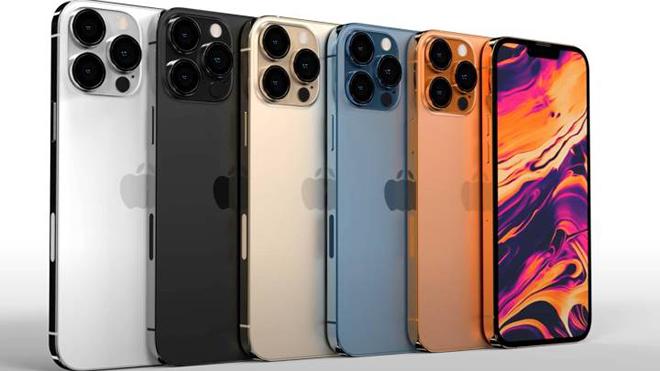 NÓNG: Lộ thông tin có tới 7 phiên bản iPhone 13 - 3