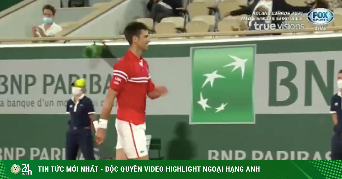 Djokovic cười hưng phấn set 3, cởi bỏ áp lực để nhấn chìm Nadal