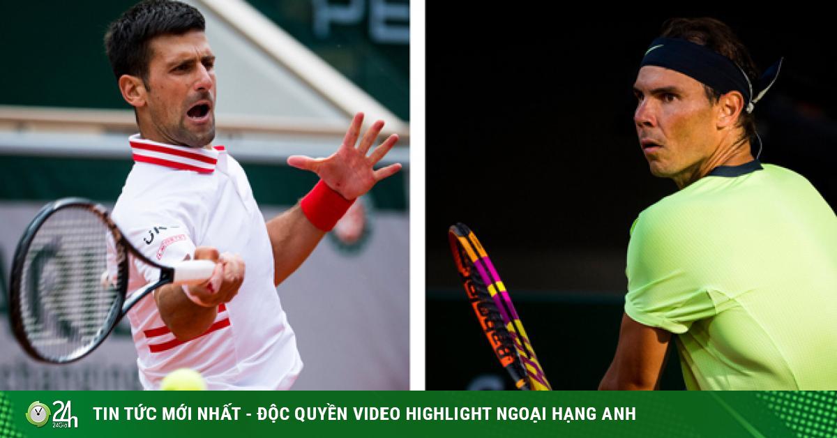 Djokovic và Nadal đấu trí đỉnh cao, so tài trên lưới ở Roland Garros