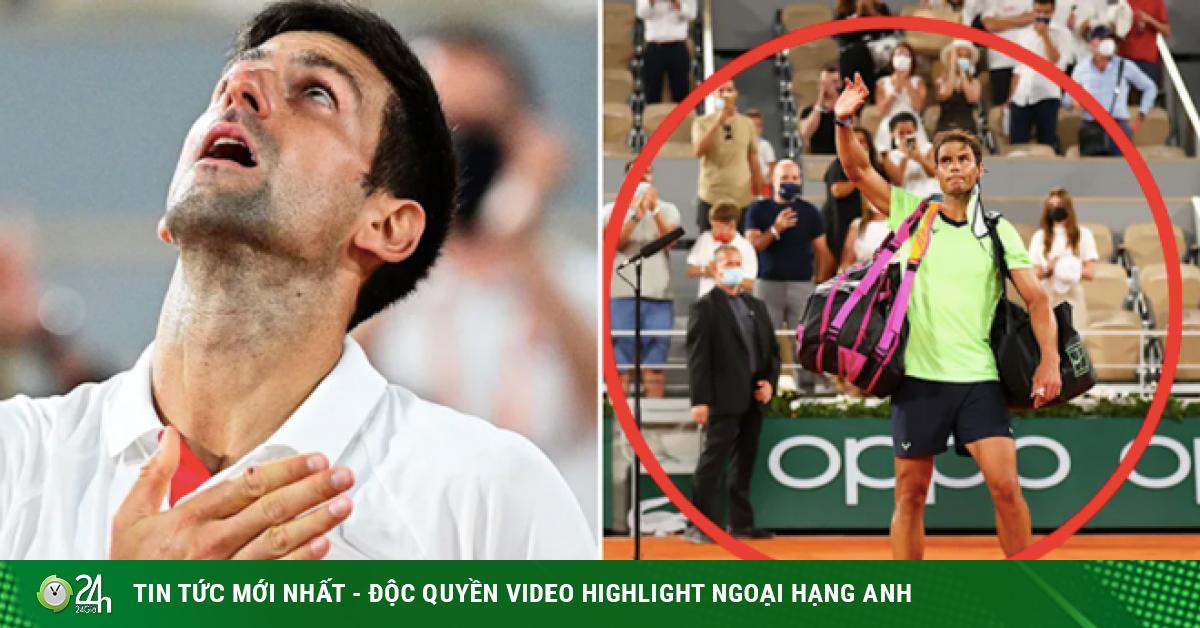 Djokovic đấu Nadal quá hấp dẫn, ngoại lệ chưng từng có cho Roland Garors