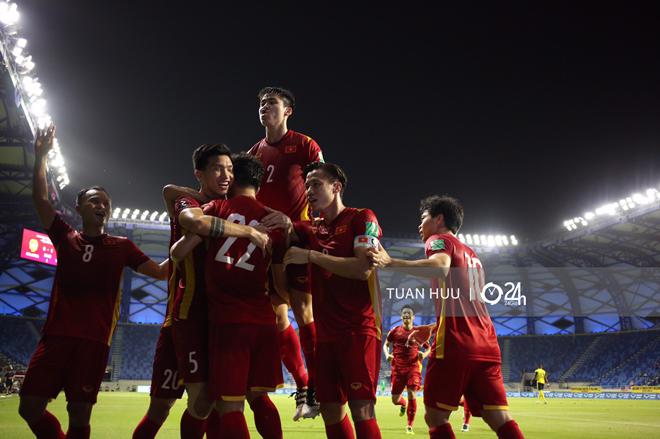 Bảng xếp hạng vòng loại World Cup: Việt Nam thắng liền hai trận đã giành vé hay chưa? - 1