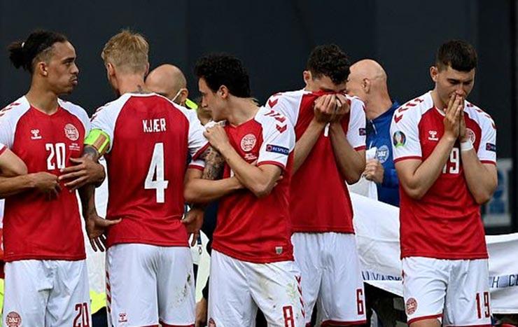 Bi kịch EURO: Eriksen (Đan Mạch) đổ gục trên sân, nguy hiểm đến tính mạng - 6