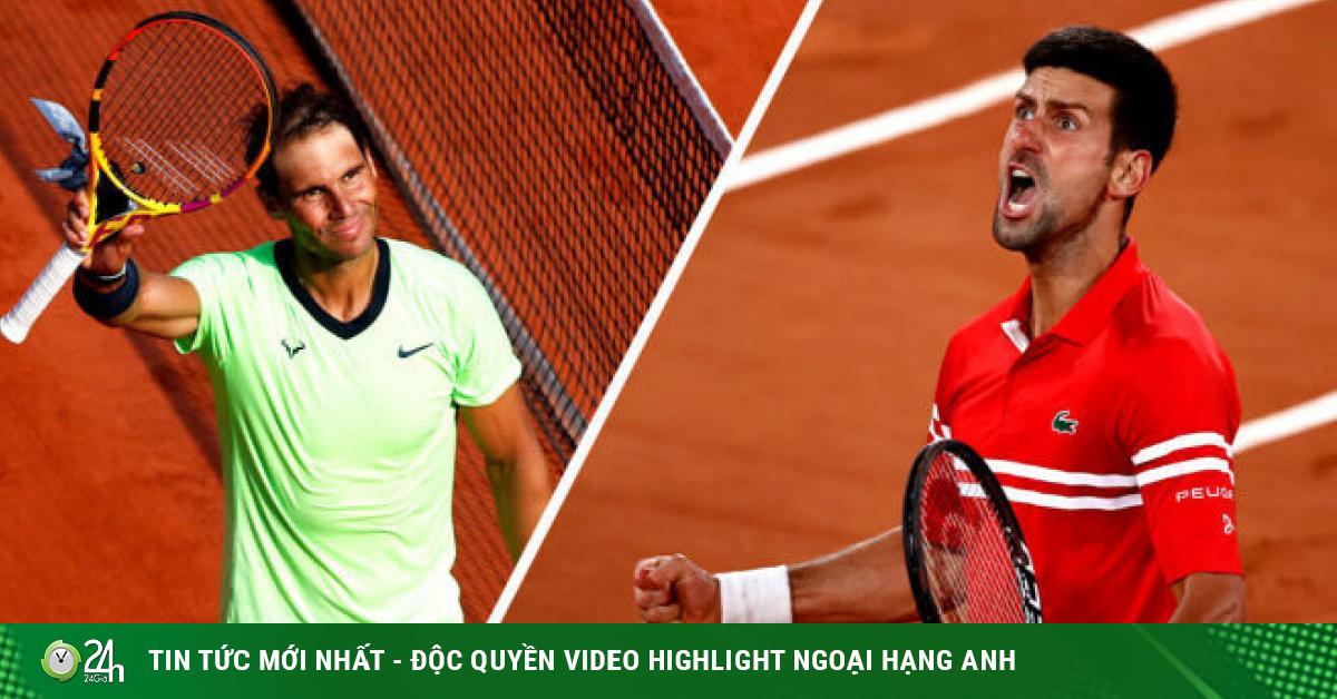 Bảng xếp hạng tennis 14/6: Djokovic bay cao, Nadal bị Tsitsipas áp sát