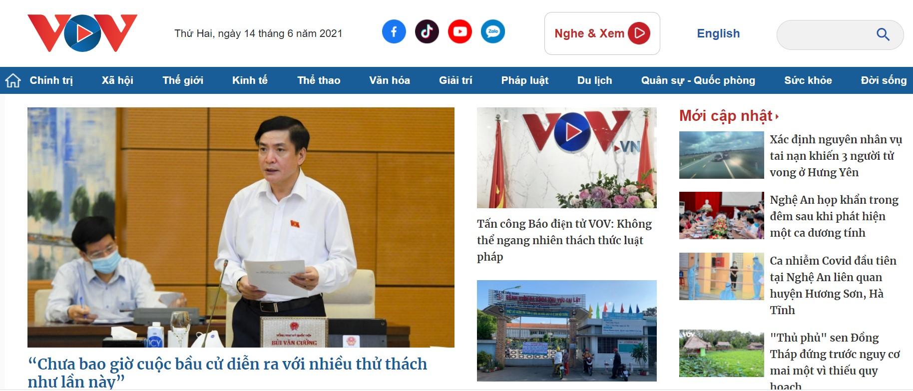 Báo điện tử VOV bị tấn công mạng, Bộ Công an vào cuộc điều tra - 2