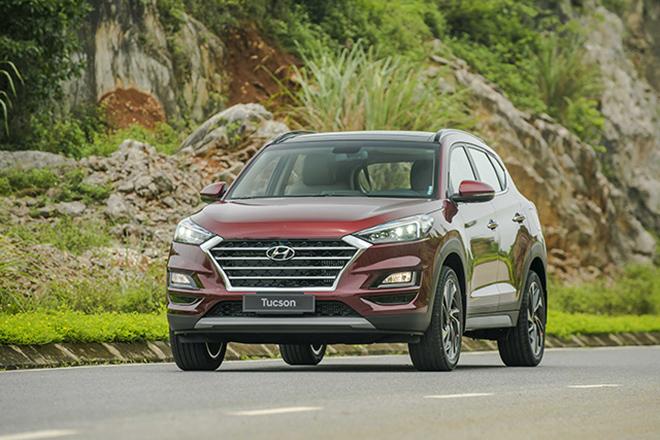 Giá xe Hyundai Tucson lăn bánh tháng 6/2021 - 1