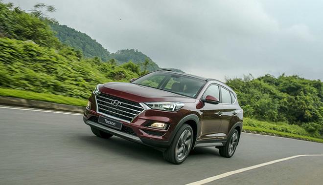 Giá xe Hyundai Tucson lăn bánh tháng 6/2021 - 10