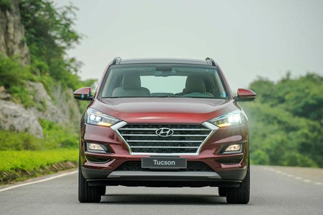 Giá xe Hyundai Tucson lăn bánh tháng 6/2021 - 4