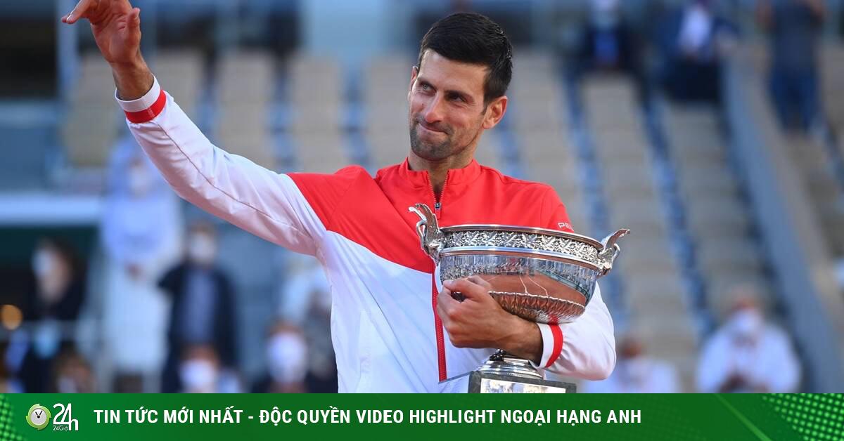 Djokovic ngược dòng vô địch Roland Garros lập mưa kỷ lục, Nadal - Federer âu lo