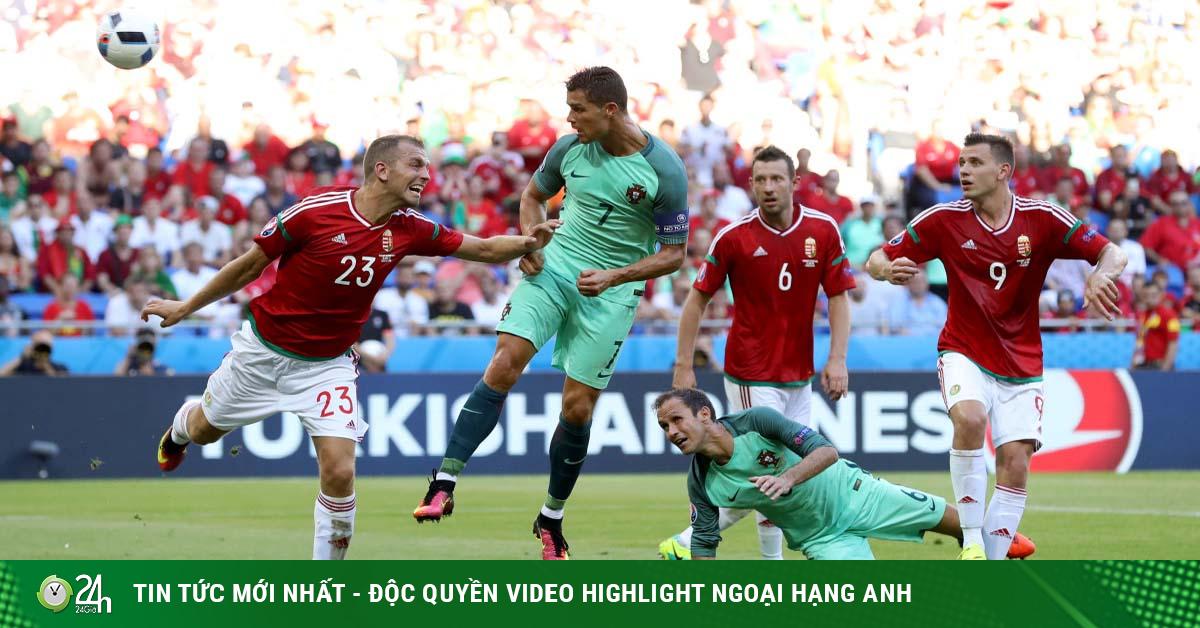 Trực tiếp bóng đá Hungary - Bồ Đào Nha: Ronaldo lập công phút bù giờ (Hết giờ)