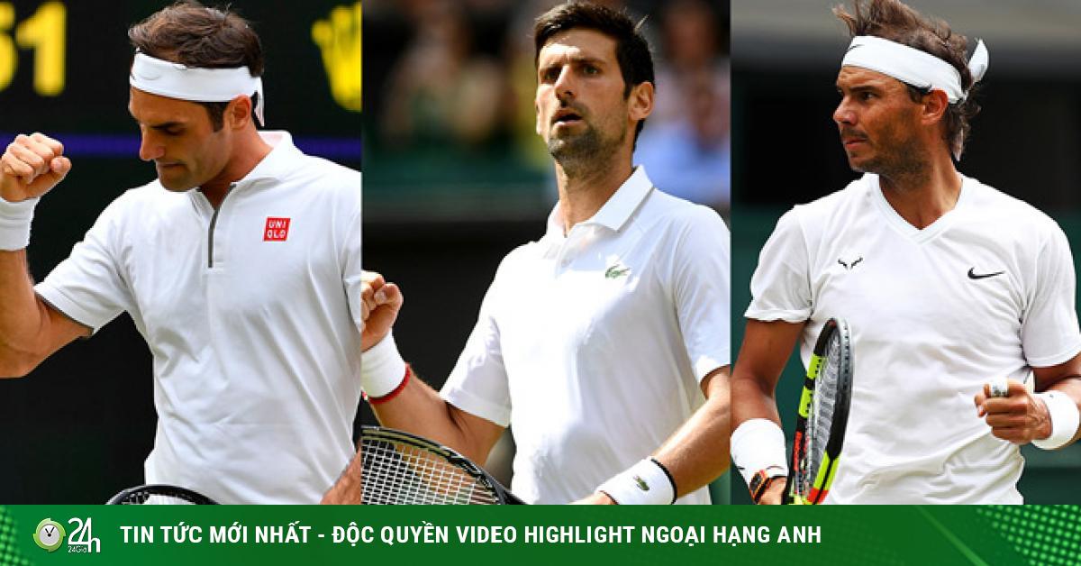 Djokovic ngại gặp Federer sớm ở Wimbledon, Nadal sẽ giành thêm Grand Slam