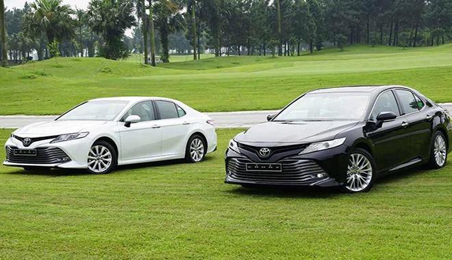 Giá xe Toyota Camry lăn bánh tháng 6/2021 - 3