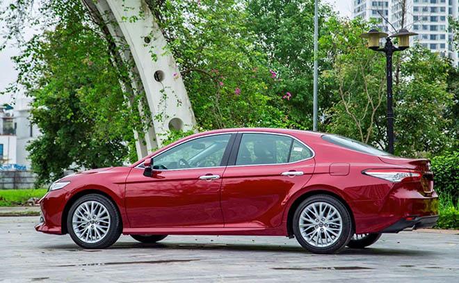 Giá xe Toyota Camry lăn bánh tháng 6/2021 - 6