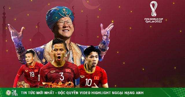 Thần đèn Park Hang Seo giúp ĐT Việt Nam vào vòng loại 3 World Cup 2022