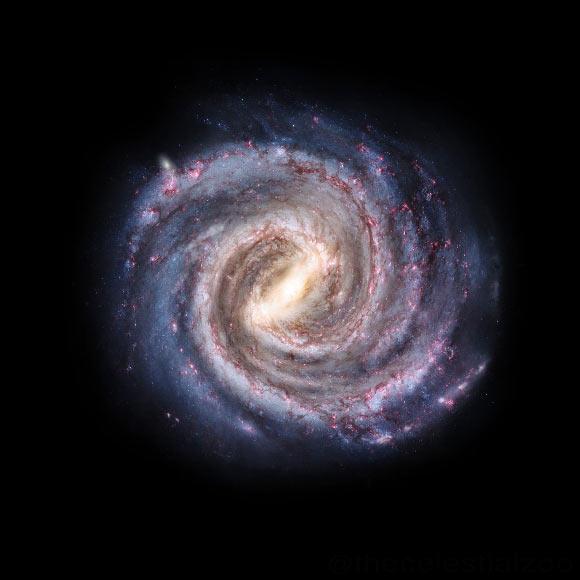 """Bị """"vòng kim cô"""" siết chặt, thiên hà chứa Trái Đất quay chậm lại - 1"""