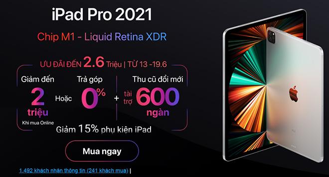 """iPad Pro M1 về Việt Nam, fan khen nức nở, nhanh chóng """"cháy"""" hàng - 4"""