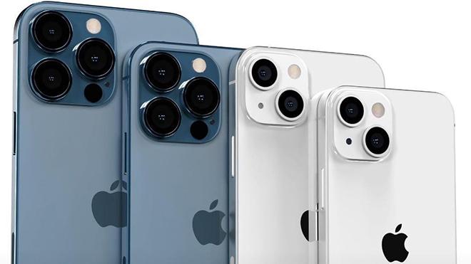 """Phát """"sốt"""" với mô hình bộ tứ iPhone 13, chân thực từng chi tiết - 3"""