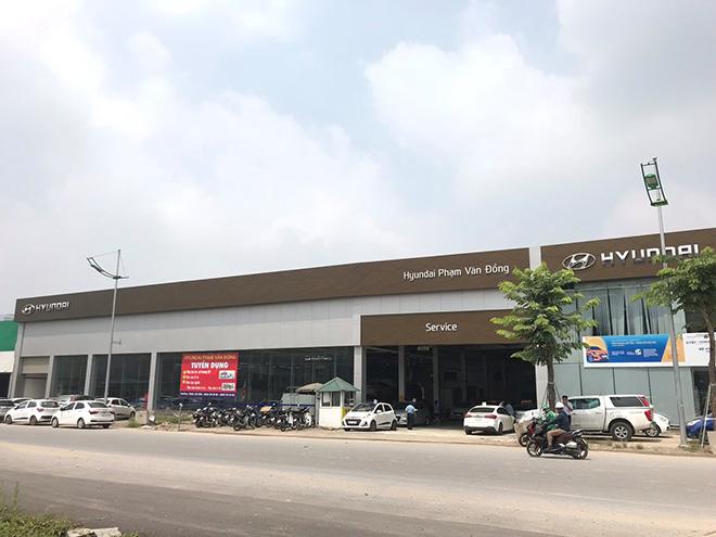 Địa điểm sửa chữa, bảo dưỡng ô tôHyundai chính hãng tại Hà Nội - 1