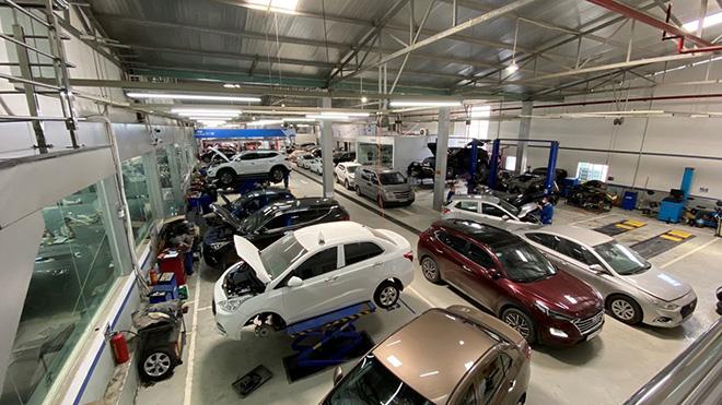 Địa điểm sửa chữa, bảo dưỡng ô tôHyundai chính hãng tại Hà Nội - 3