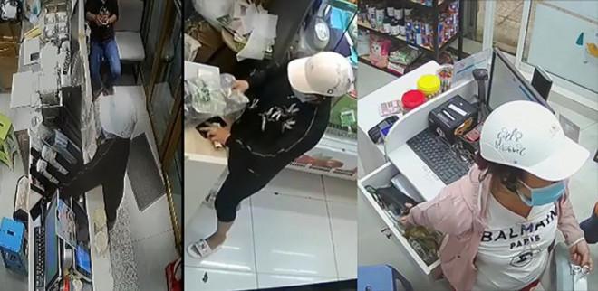 Nhiều vụ trộm có người phụ nữ mặc đồ giống hệt nhau gây ra - 1