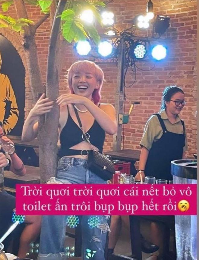 """Tóc Tiên nhậu say khướt ôm cây đứng hát, Ngọc Trinh """"mất tỉnh táo"""" cũng sốc chẳng kém - 7"""