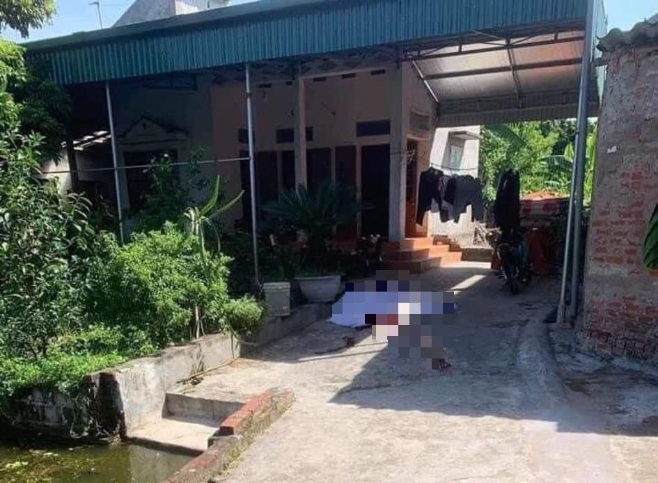 Thảm án kinh hoàng ở Thái Bình, chồng chém vợ và bố mẹ vợ tử vong