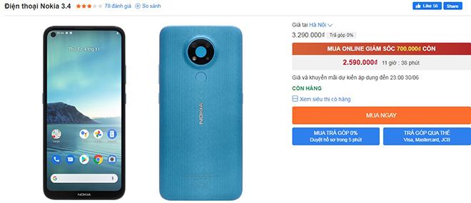 Top dien thoai Nokia tu 2 trieu sieu ben dang giam gia manh nokia 3 4 1625036759 846 width660height285 - Top điện thoại Nokia từ 2 triệu siêu bền, đang giảm giá mạnh