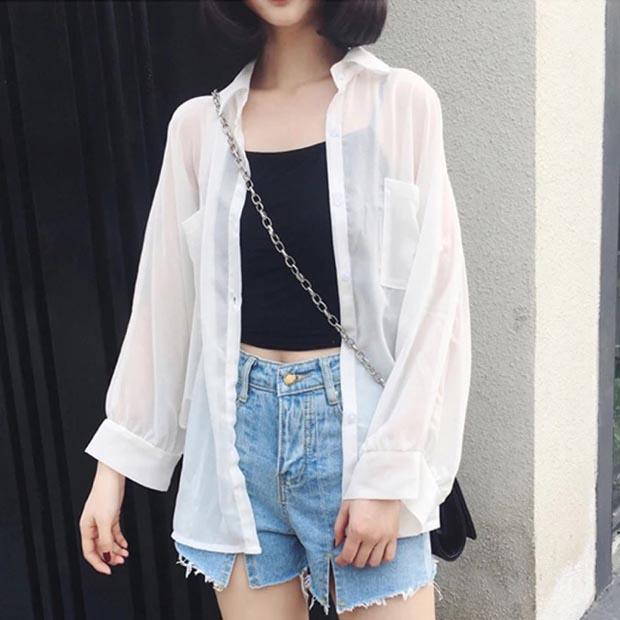 7 mẹo phối áo crop-top giúp nàng 'mũm mĩm' giấu mỡ hoàn hảo - hình ảnh 6