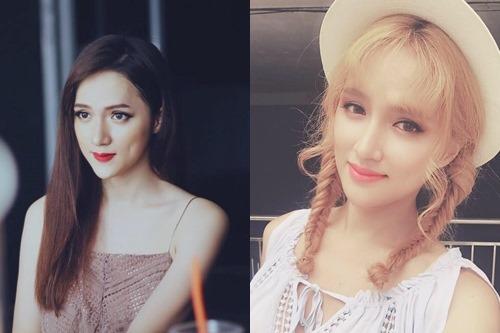 """Không tin nổi cô gái """"tóc vàng hoe"""" này là Hương Giang Idol - hình ảnh 2"""
