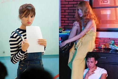 """Không tin nổi cô gái """"tóc vàng hoe"""" này là Hương Giang Idol - hình ảnh 4"""