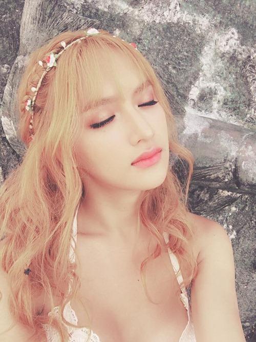 """Không tin nổi cô gái """"tóc vàng hoe"""" này là Hương Giang Idol - hình ảnh 6"""