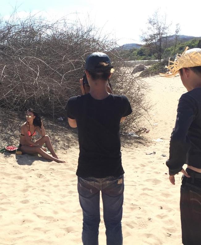 Hậu trường ảnh nội y quá nóng bỏng: Angela Phương Trinh không như fan lầm tưởng - hình ảnh 19