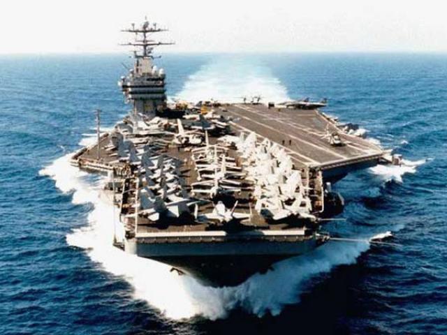 Thăm tàu sân bay xịn hơn cả tàu mạnh nhất hiện nay của Mỹ
