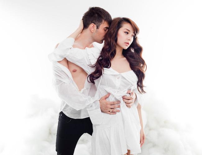 """Dàn mỹ nữ Việt """"chết đứ đừ"""" khi rơi vào vòng tay loạt trai đẹp - hình ảnh 23"""