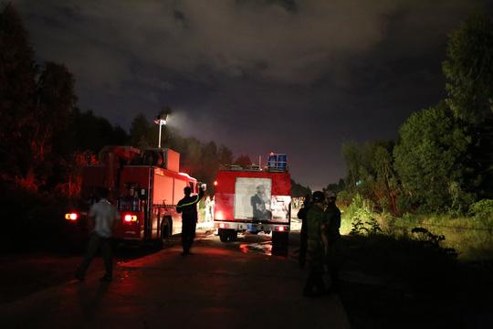 Cháy rừng thông gần sân bay Đà Nẵng hơn 2 giờ - hình ảnh 1