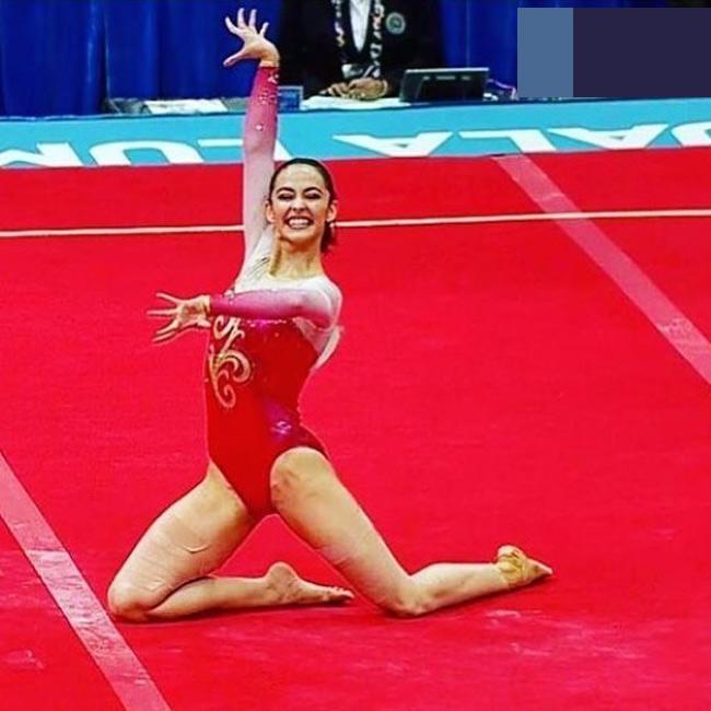 Vẻ đẹp hoàn mỹ của nữ thần thể dục đẹp nhất SEA Games - hình ảnh 6