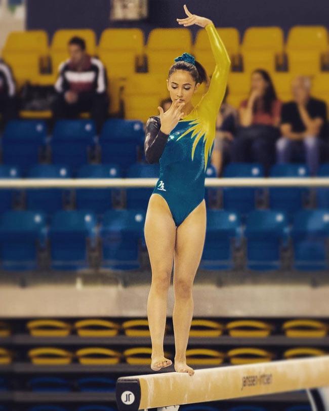 Vẻ đẹp hoàn mỹ của nữ thần thể dục đẹp nhất SEA Games - hình ảnh 17