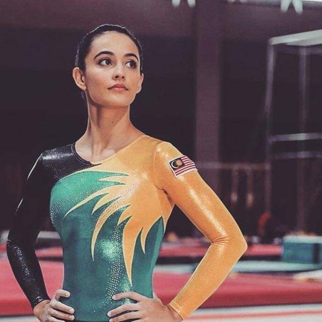 Vẻ đẹp hoàn mỹ của nữ thần thể dục đẹp nhất SEA Games - hình ảnh 15
