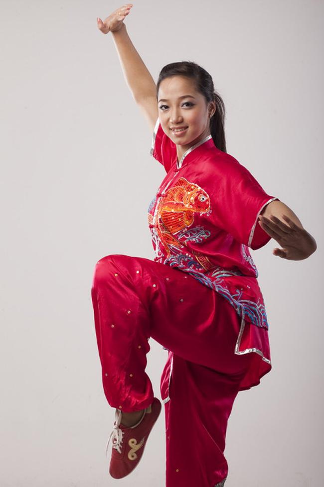 """""""Hoa khôi Wushu"""" từng giành giải Vàng SEA Games 24 bây giờ ra sao? - hình ảnh 2"""