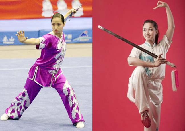 """""""Hoa khôi Wushu"""" từng giành giải Vàng SEA Games 24 bây giờ ra sao? - hình ảnh 1"""