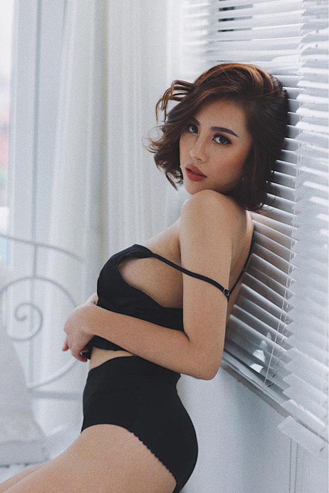 """Đẫy đà mơn mởn, hot girl Quảng Ninh vẫn bại dưới tay """"cô gái chân khoèo"""" - hình ảnh 4"""