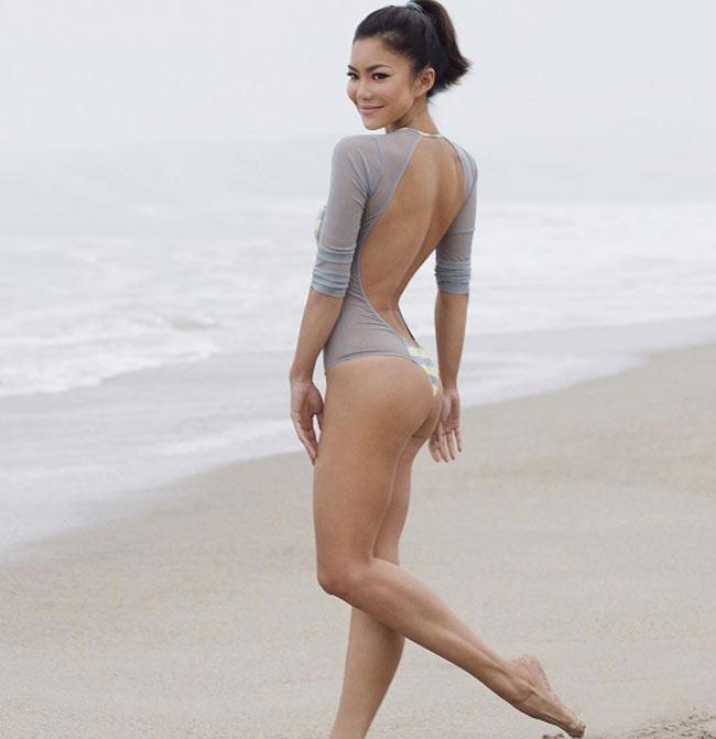 """""""Ngây dại"""" vì đường cong uyển chuyển như sóng của mỹ nữ yoga sexy nhất thế giới - hình ảnh 8"""