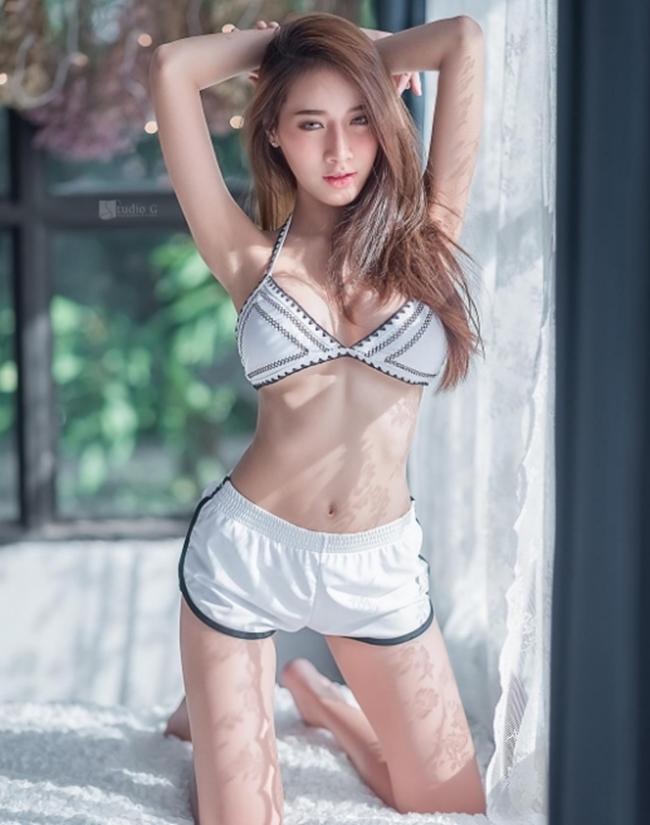 """""""Thiên thần áo trắng"""" siêu sexy mọi đàn ông Thái Lan đều khao khát - hình ảnh 4"""