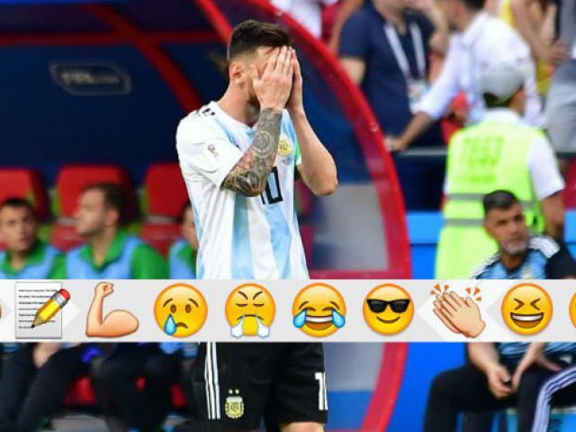 Argentina bị loại World Cup: Fan thương Messi, gọi Mbappe là siêu nhân