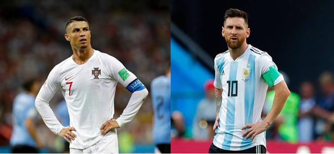 """Dân mạng thi nhau chế ảnh Messi và Ronaldo """"dắt tay nhau"""" rời World Cup - 1"""