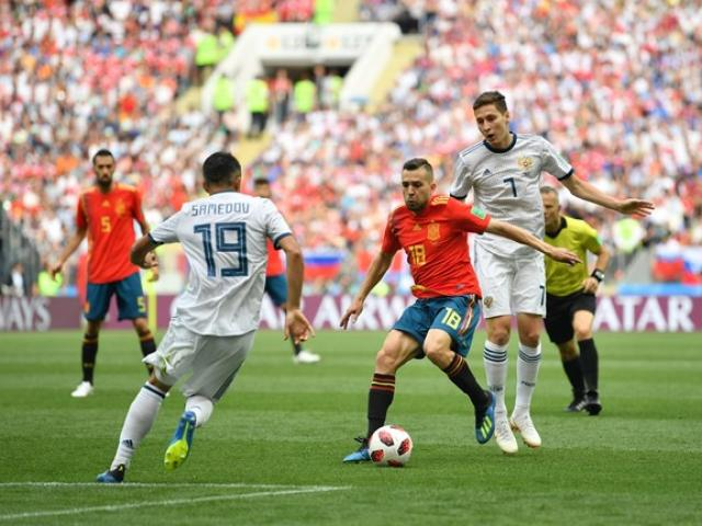 Trực tiếp World Cup Tây Ban Nha - Nga: Ramos tinh quái, bàn mở điểm may mắn