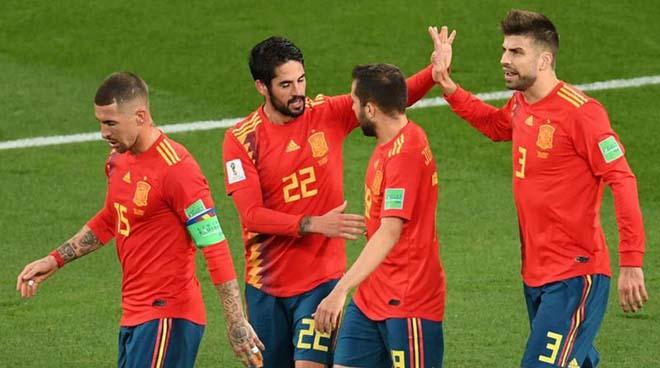 """Dự đoán tỷ số World Cup 1/7: Tây Ban Nha đè bẹp Nga, Croatia """"bỏ túi"""" Đan Mạch - 1"""
