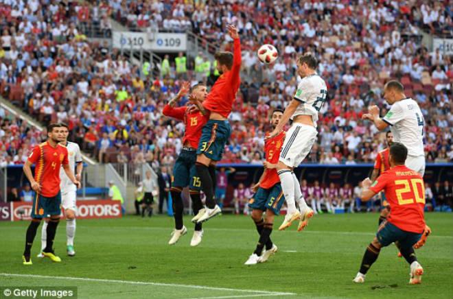 """World Cup, Tây Ban Nha - Nga: Sai lầm khó ngờ, người hùng loạt """"đấu súng"""" - 1"""